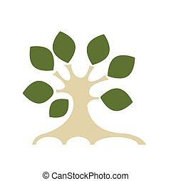 ontwerp, kunst, boompje, jouw