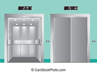 ontwerp, lift