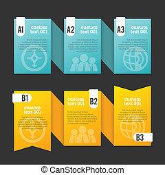 ontwerp, lint, copyspace, element