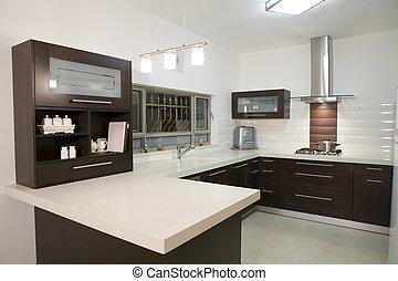 ontwerp, luxe, keuken