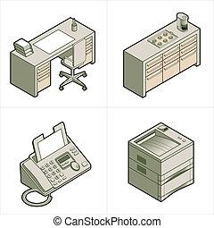 """ontwerp onderdelen, """"office"""", 17b"""