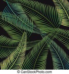ontwerp, palm vel, achtergrond