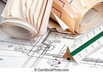 ontwerp, plannen