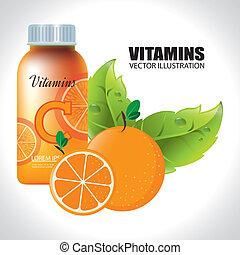 ontwerp, vitamine