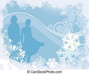 ontwerp, winter