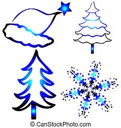 ontwerpen, kerstmis