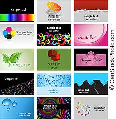 ontwerpen, visitekaartje