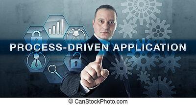 ontwikkelaar, voortvarend, process-driven, toepassing