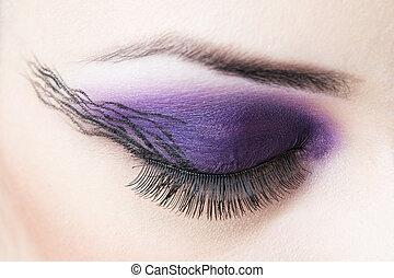oog makeup, professioneel