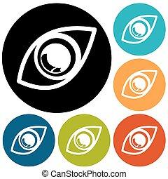 oog, pictogram