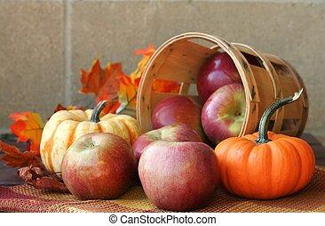 oogsten, herfst