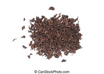 oolong, variedad, té, asado, tieguanyin