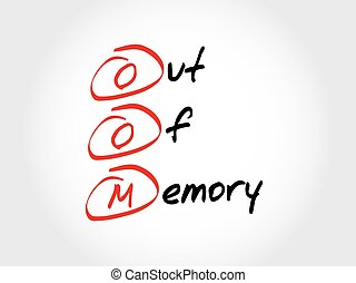 oom, 頭字語, 記憶, から