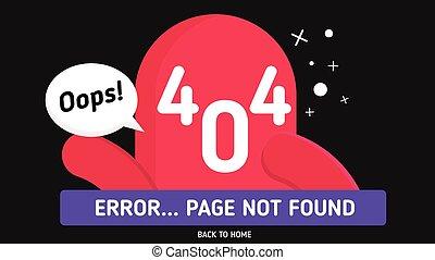 oops 404 error