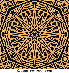 oosters, arabische , ornament, seamless, model