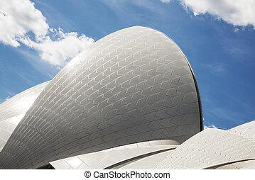opéra, australie, détail, sydney
