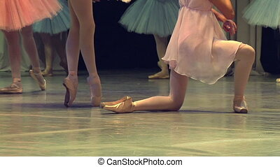 opéra, ballet, étape