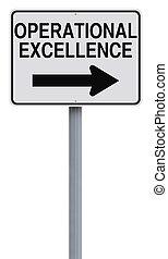 opérationnel, excellence