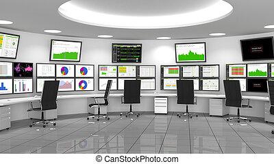 opérations, (noc, réseau, /, soc), sécurité, centre