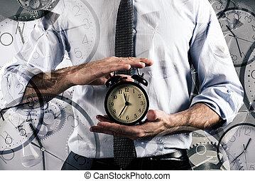 opóźnienie, pojęcie, czasowy zegar
