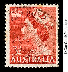opłata pocztowa, rocznik wina, australijski, tłoczyć