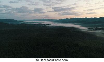op, carpathians, mist, bos