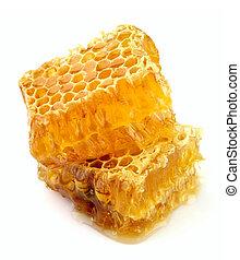 op einde, honingraat