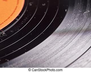 op einde, vinylverslag