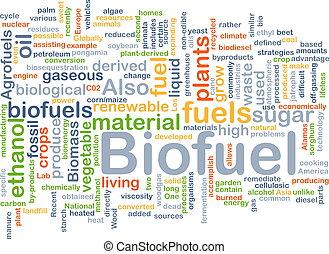 opał, pojęcie, biofuel, tło