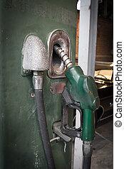 datowanie pomp benzynowych