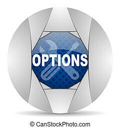 opciones, icono