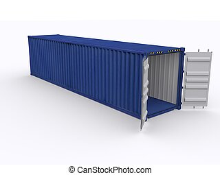 open 40ft container