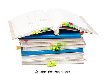 Open account book