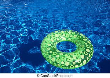 open-air, slå samman, simning