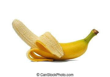 Open banana
