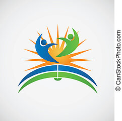 Open book students logo