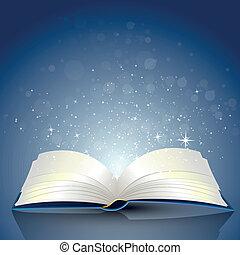 Open Book - Vector Illustration of an open Book
