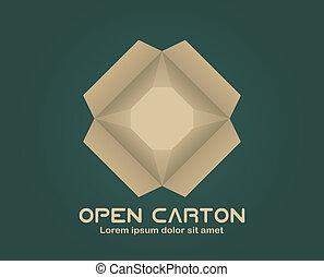 Open carton