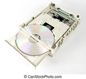 open cd unit