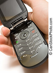 Open Cell Phone