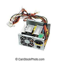 Open computer power supply