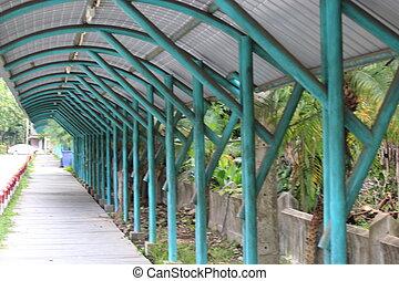 open corridor