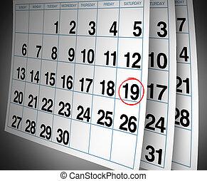 Open date