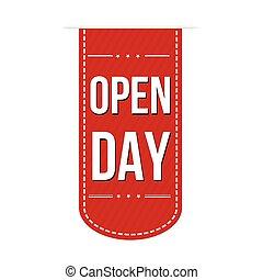 Open Day banner design
