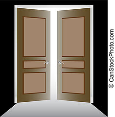 open, deuren