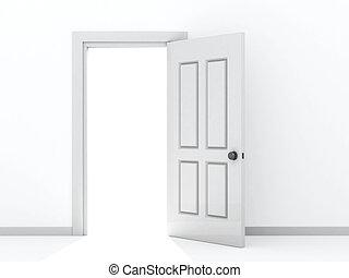 open door clipart black and white. Open Door Clipartby Clipart Black And White .