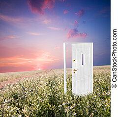 Open door to new life