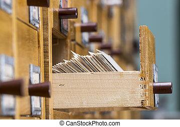 open doos, archief