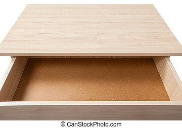 Open Drawer wth Clipping Path