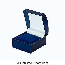 open empty box .